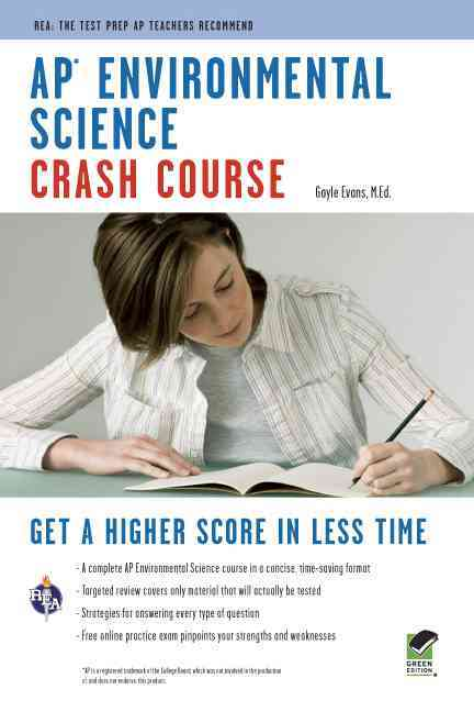 Ap Environmental Science Crash Course By Evans, Gayle